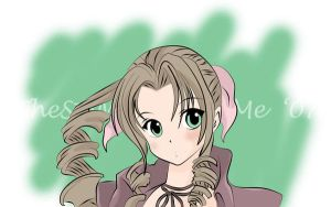 CS3 Practice- Aeris by TheSpyWhoLuvedMe