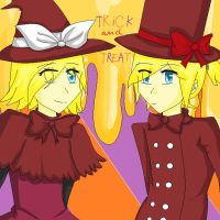 Happy Haloween Vocaloid Style by KittyMaria