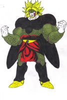 Perfect Cell_Broly LSS1 Absorbed by DBZ2010