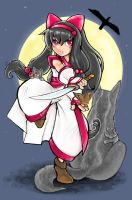 Nakoruru by smallguydoodle