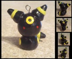 Chibi Umbreon Charm by ScraggyCrafts