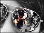 Mirror Sunglasses Reflection by bender01101