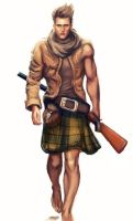 The Highlander by GerryArthur