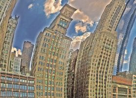 Chicago Skyline by Sebass10