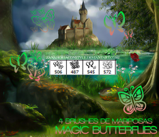 +Magic Butterflies brushes by Zanahoriaconstyle