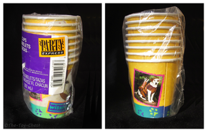 Wishbone Party Collection - Paper Cups by The-Toy-Chest
