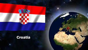 Flag Wallpaper - Croatia by darellnonis