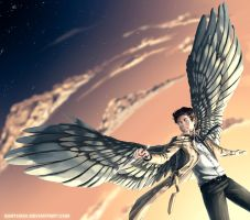 [ SPN ] Castiel by EarthXXII