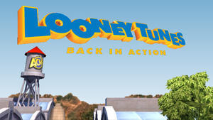 Looney Tunes Back in Action HD BG by OMGWEEGEE2