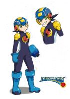 Megaman by MlleMalice