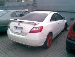 Honda Civic Coupe by Lew-GTR