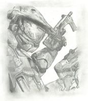 Master Chief by mH1NK