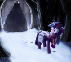 Twilight's cold terror by Rautakoura
