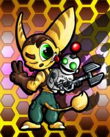 Ratchet and Clank by LunarDawn