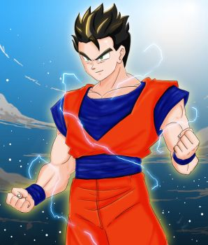 Ultimate Gohan by Graxile