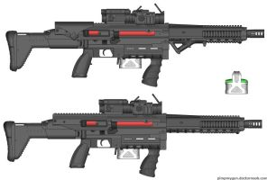 Mk 2323 Gauss Rifle by CHURCH17rz