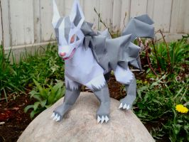 Mightyena Papercraft