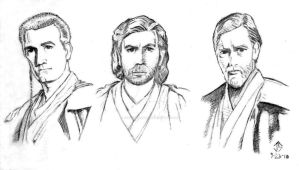 Sketchpad: Ewan as Obi-Wan by JasonShoemaker