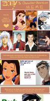 Character Obsession MEME by art-princezz