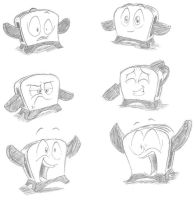 Toaster Expressions by Smashedatoms