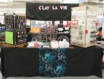 Another Anime Con Table 2014 by okapirose