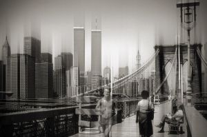 Brooklyn Bridge - New York by Marcusion