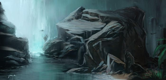 Waterfall by TheShock
