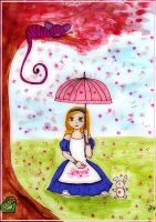 Blossomrain in Wonderland by Alice-fanclub