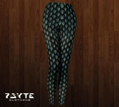 Dragon Scale Leggings by PsyteClothing