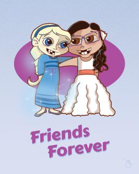 Friends Forever by Pixeltender