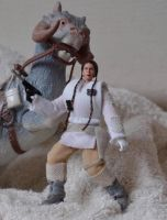 Princess Leia, Hoth Rebel Soldier by mousedroid-hoojib