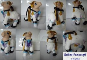 My little Pony Custom Relena by BerryMouse