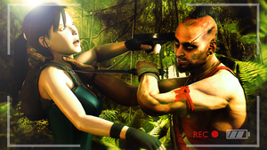 Lara vs Vaas by Robogineer