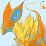 palette challenge- the eyeburn is real by IceStarDragonHC