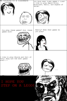 Rage Comics: Video Gaming by NinjaFalcon90