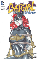Batgirl cover #6 by AerianR