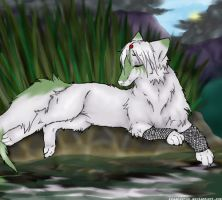 Pond Reflections- art trade by IceandSnow