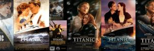 Titanic 1997 Movie Posters by ESPIOARTWORK-102