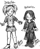 Trainers: Delcia + Noishie by cottonball