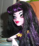 MH Doll Face Customized: Demise Grim by bigrika