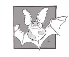 Spotted Bat by UnusualHero