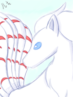 Shiny Winter Ninetails by shadowfan123