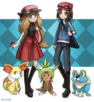 Pokemon XY by AlineSM