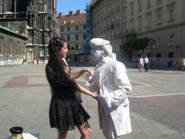 Me and the Undead Mozart by jesussuperstar