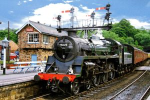 Calling in Grosmont by nick-metroid