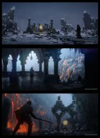 Ice Environment Tryptic by JoshEiten