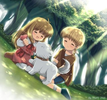 .Childhood Memories. by toi-chan