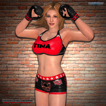 MMA Fighters Photoshoot: Tina Armstrong by ShadowNinjaMaster