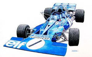 Tyrrell Ford by johnwickart