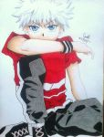 Killua Zoldyck by SarahUsagi-chan